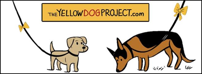 yellow dog banner